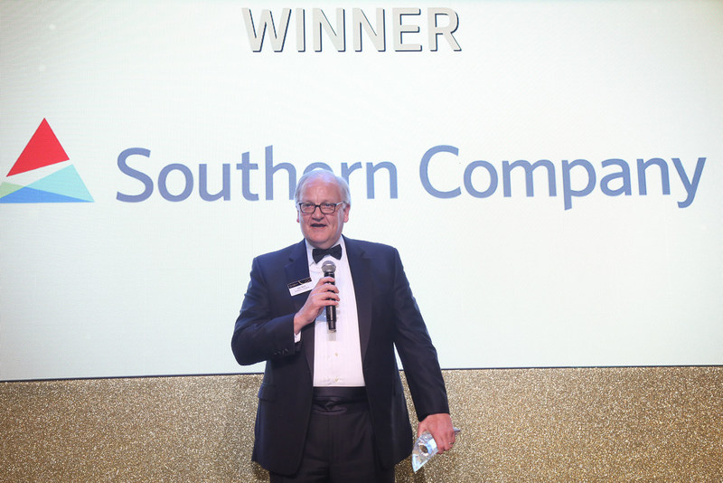 Jim Kerr, executive vice president, general counsel and chief compliance officer of the Southern Company, accepted the awards on behalf of Southern Company.