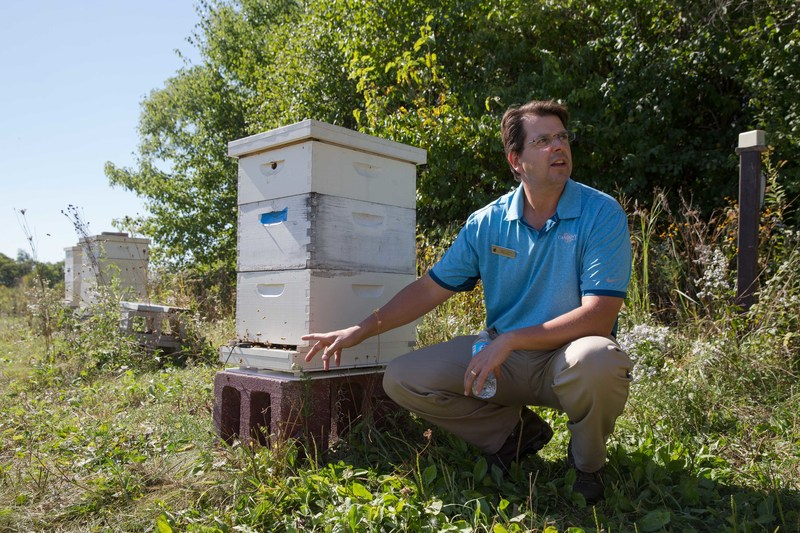 Scott Witte (pictured) and Luke Cella are winners of the fourth annual Bayer Bee Care Community Leadership Award, recognized for their efforts to promote healthy ecosystems for honey bees and other pollinators through the Bee Barometer Project.