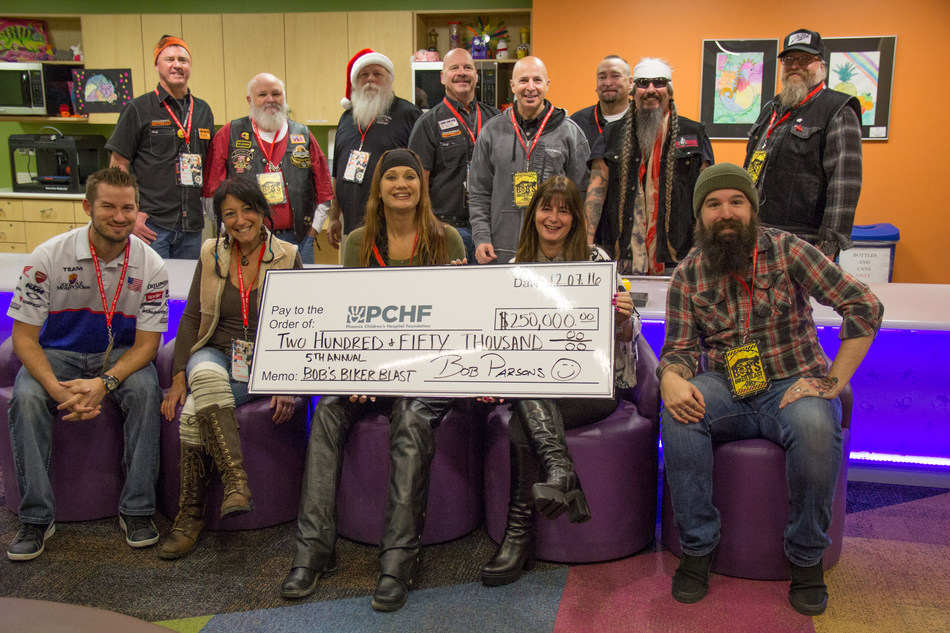 5th Annual Bob's Biker Blast Raises $250,000 For Phoenix Children's Hospital