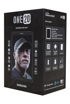 The ONE20 Tablet - designed exclusively for professional truck drivers - is now available for purchase at TA and Petro Stopping Centers nationwide.