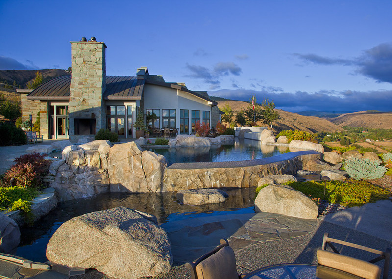 This property combines J. P. King's specialties of luxury homes and land into one stunning property.