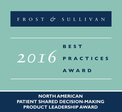 Health Dialog Receives 2016 North American Patient Shared Decision-Marking Product Leadership Award