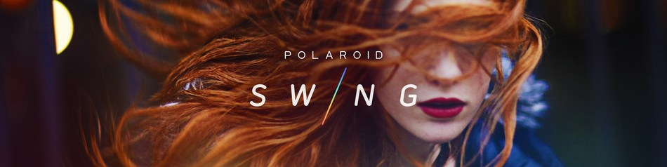 A unique new visual medium for the mobile era (PRNewsFoto/Polaroid Swing)