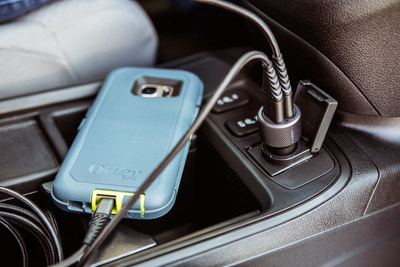 Pair the OtterBox USB Car Charger with the OtterBox Micro USB Cable to charge devices fast with 2.4 AMP charging.