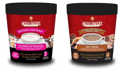 Cold Stone Creamery and Sweet Offerings bring the Ultimate Flavor Experience for National Hot Cocoa Day! For over 25 years Cold Stone Creamery has been delighting us with their world famous, Signature Creation Ice Cream Flavors.  Now, Hot Cocoa lovers and Cold Stone Creamery fans have a whole new way to celebrate National Hot Cocoa Day on December 13th with the first-ever launch of Birthday Cake Remix and Peanut Butter Cup Perfection Hot Cocoa flavors to warm up your holiday season.