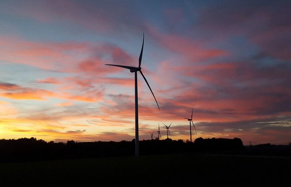 BayWa r.e. vend à Innergex un parc eolien de 24 MW en France. (PRNewsFoto/BayWa r.e. renewable energy GmbH)