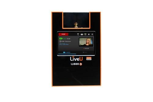 LiveU's LU600 portable transmission unit (PRNewsFoto/LiveU)