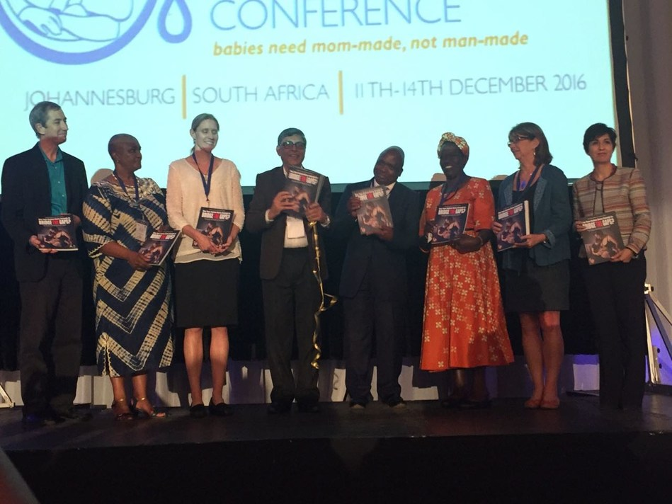 IBFAN Launches the WBTi 84 Country Report at the Second World Breastfeeding Conference in Johannesburg on December 11, 2016 (PRNewsFoto/BreastFeeding Promotion Network)