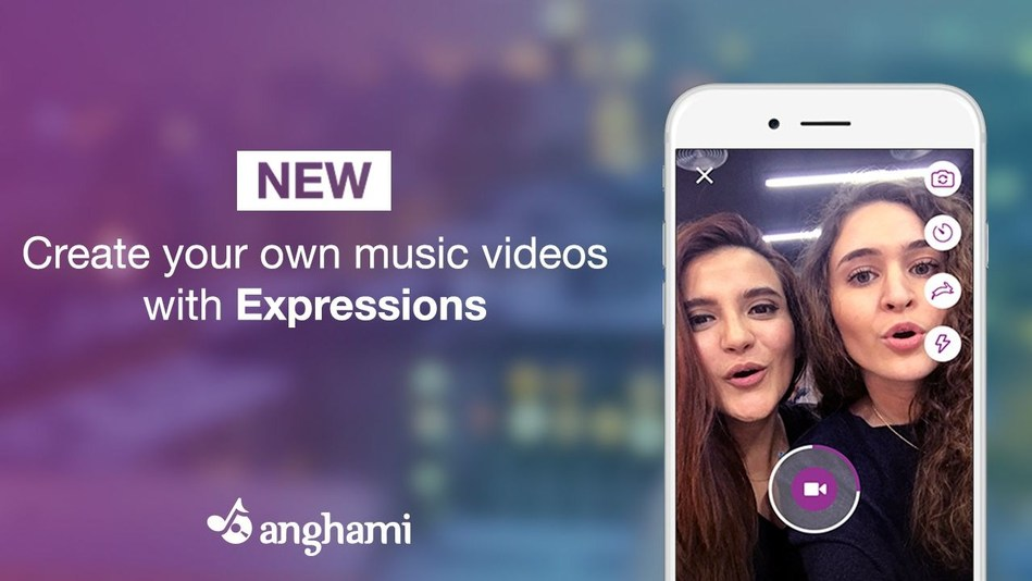 Anghami - Add music to your day (PRNewsFoto/Anghami)