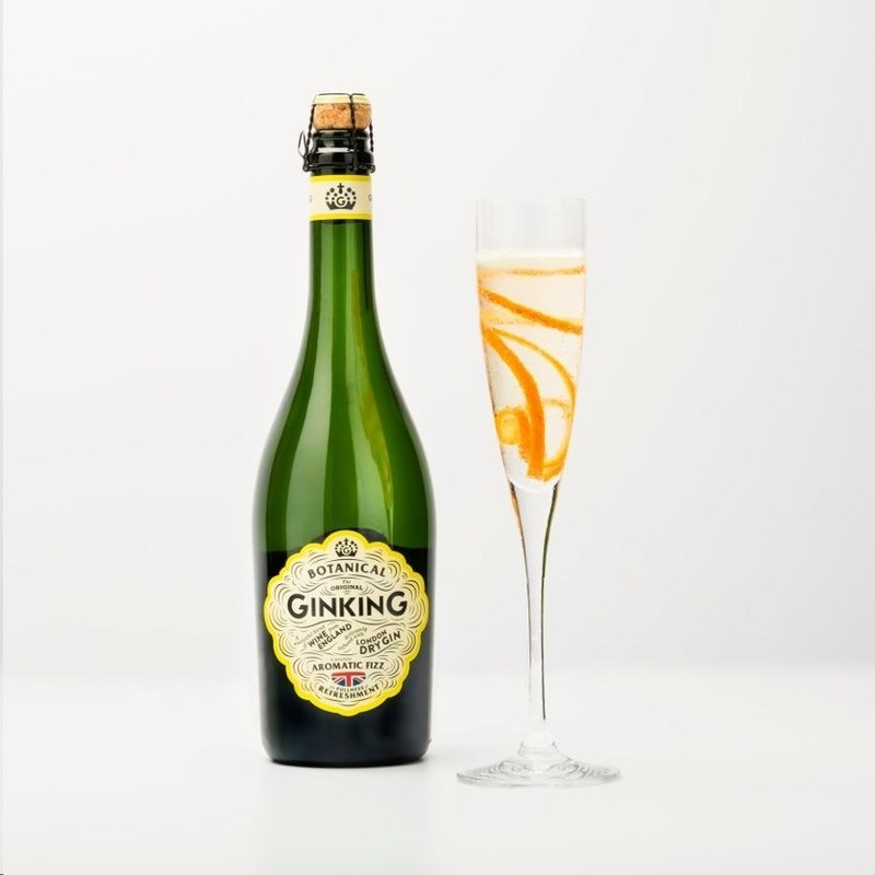 Served chilled with a twist of orange peel: Ginking, Served chilled with a twist of orange peel (PRNewsFoto/Litmus Wines)
