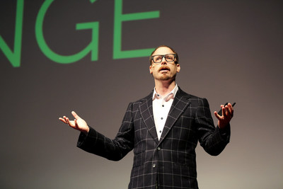 """Columbia Business School Professor Adam Galinsky delivers his TEDx New York Talk """"How to Speak up for Yourself"""" to a sold-out audience."""