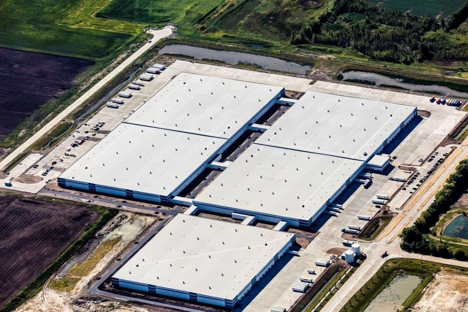 Michelin's Distribution Center in Wilmington, Ill., pictured here, has received a Gold LEED certification.