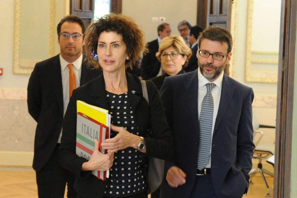 Luisa Todini and Prof. Paolo Boccardelli (PRNewsFoto/LUISS Business School)