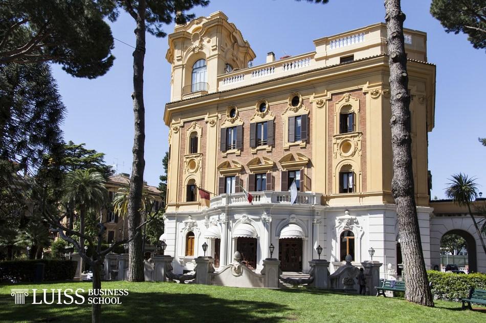 LUISS Business School Campus in Rome, Italy (PRNewsFoto/LUISS Business School)