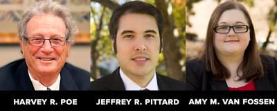Tax attorneys Harvey Poe, Jeffrey Pittard and Amy Van Fossen join Scarinci Hollenbeck.
