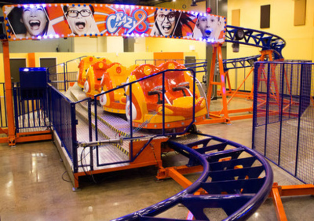 Ottawa's only roller coaster is indoors and inside of Funhaven (CNW Group/FunHaven)