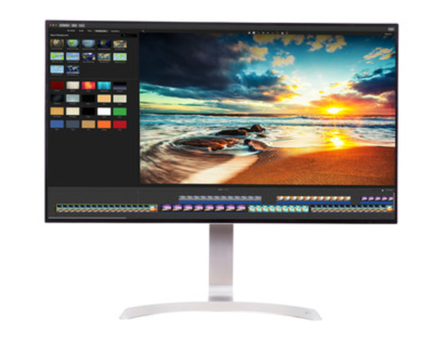 HDR Compatible 4K Monitor Delivers Huge Boost in Productivity, Gaming for Both Work or Play (CNW Group/LG Electronics Canada)