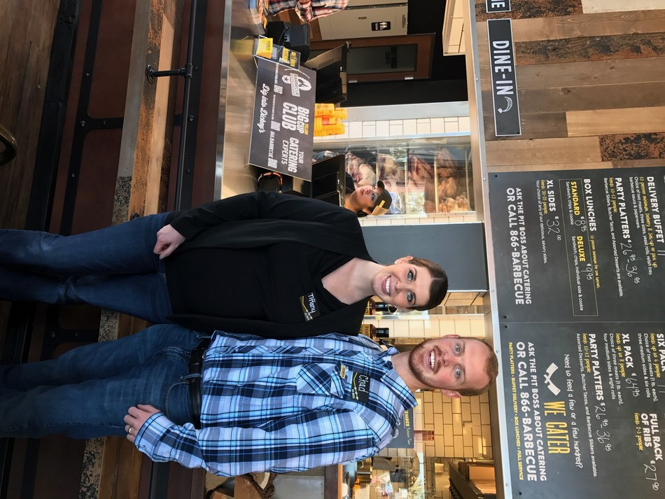 Tiffany Oder and Chad Burge open their second Dickey's location in Surprise, AZ.
