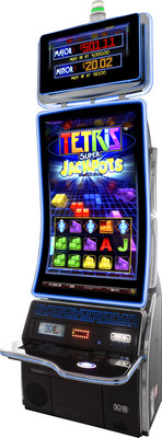 Scientific Games Launches Tetris-Themed Video Slot On Innovative New TwinStar J43 Curved Portrait Game Platform