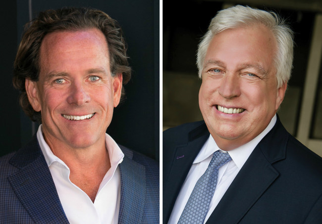 Real estate leader Pacific Union International CEO Mark A. McLaughlin and John Aaroe, president of John Aaroe Group announce the merger of their West Coast residential real estate brokerages.  The collaboration links two of California's strongest real estate firms supporting combined 2015 production of $10.5 billion.