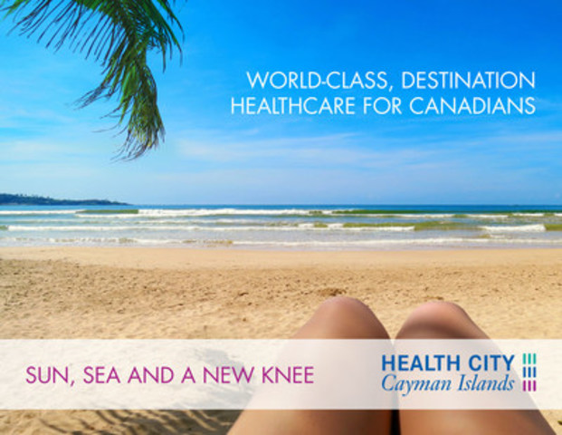 Health City Cayman Islands offers a high-quality, affordable, healthcare option for Canadians waiting for non-emergency procedures like knee replacement, hip replacement and spine surgery in a world-class, internationally accredited hospital. No wait times. Free virtual consultation with surgeon. (CNW Group/Health City Canada)