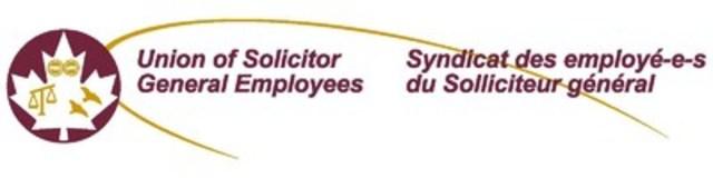 Syndicat des employé-e-s du Solliciteur général (Groupe CNW/Syndicat des employé-e-s du Solliciteur général)