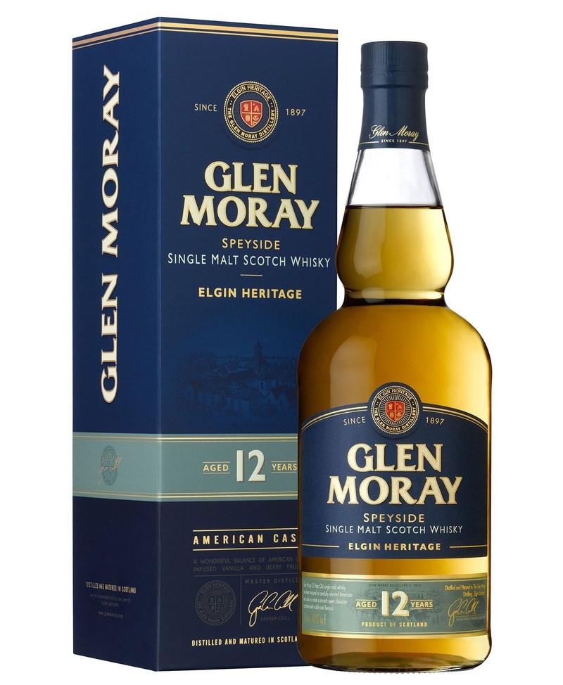 Glen Moray Heritage 12 years old (PRNewsFoto/BARDINET)