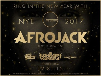 Afrojack @ The Gallery inside the Dream Downtown Hotel