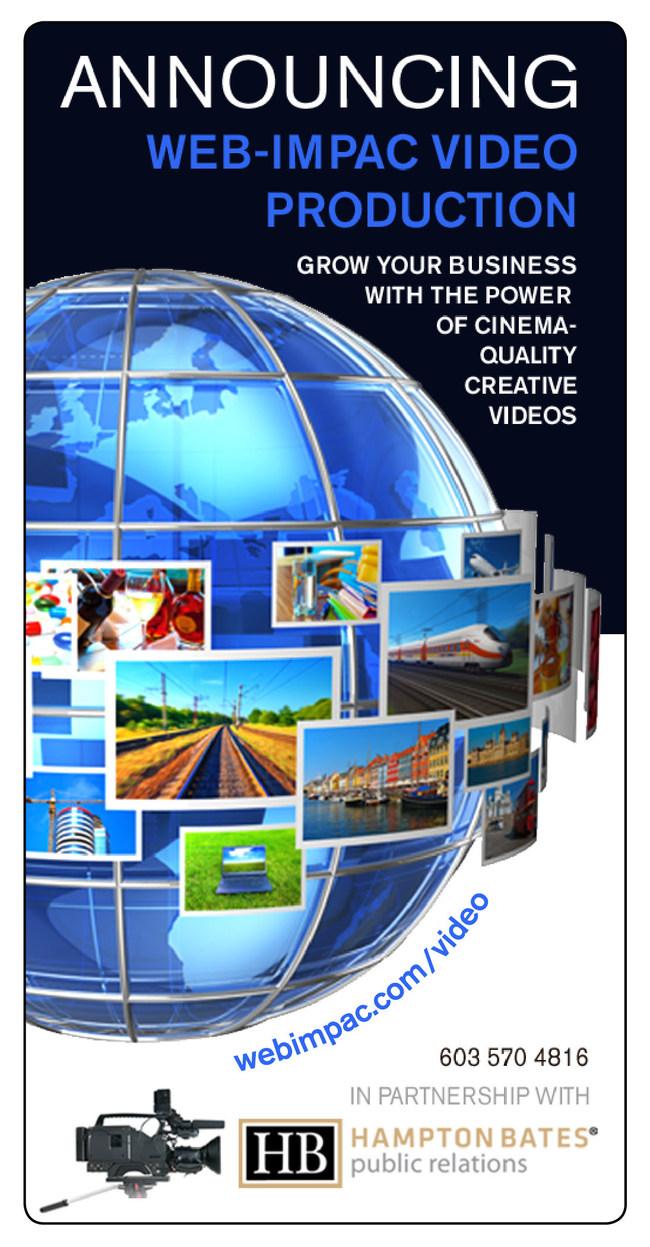 Announcing Web-Impac Website Video Production