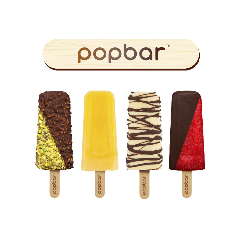 Handcrafted frozen treats on a stick
