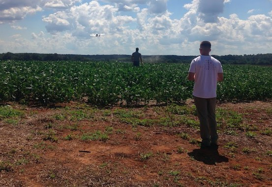 PrecisionHawk's Phase 2 testing, under the FAA Pathfinder Program, took place in North Carolina and Kansas with a large group of both FAA-certified pilots and non-pilots who were asked to make decisions while flying a drone beyond line of sight.