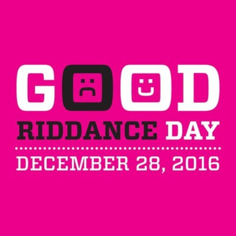 Good Riddance Day - December 28, 2016 (CNW Group/Shred-it)