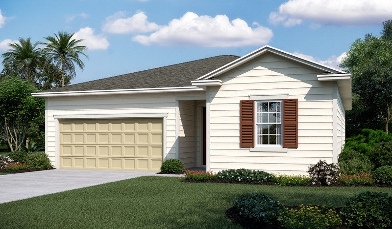 The Amethyst floor plan in the Seasons(TM) Collection features a ranch-style open floor plan well-suited for both entertaining and family living.