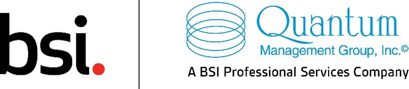 From today, Quantum Management Group will operate under the name, Quantum - A BSI Professional Services Company and will adopt this new logo.