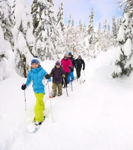 Parc national des Monts-Valin (CNW Group/Société des établissements de plein air du Québec)