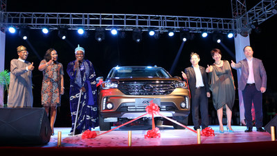 Leading automaker GAC Motor has released the company's best-selling SUV GS4 in Africa at the launching ceremony on December 12 at Eko Hotel in Lagos, Nigeria. (PRNewsFoto/GAC Motor)