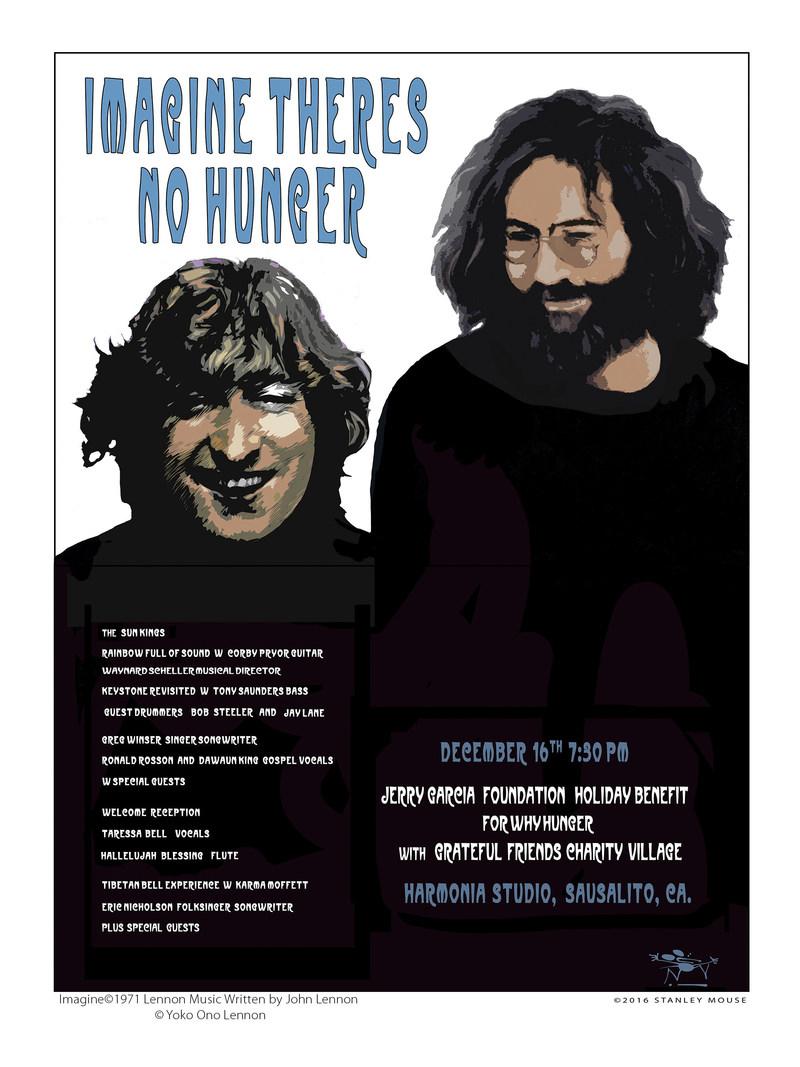 Artist: Stanley Mouse Imagine(C)1971 Lennon Music Written by John Lennon (C) Yoko Ono Lennon