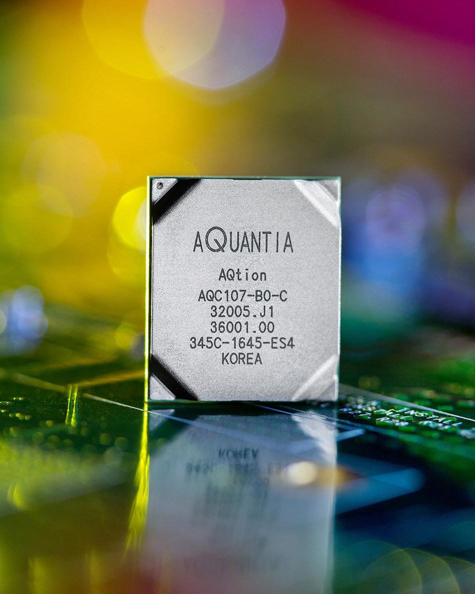Aquantia Enters Enterprise Client Connectivity Market with New AQtion(TM) Product Line of Multi-Gigabit Ethernet Controllers