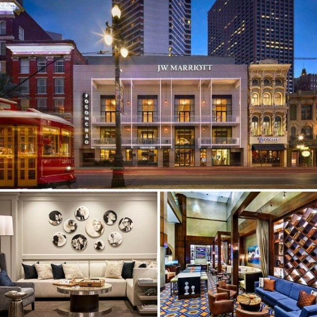 JW Marriott New Orleans invites holiday travelers in town for the 2016 NOLA ChristmasFest to add more spirit to their stay with the Sip Savor The Big Easy Package, featuring deluxe accommodations with two complimentary cocktails every night of a stay. The deal is valid through Dec. 30, 2016. For information, visit www.marriott.com/MSYJW or call 1-504-525-6500.