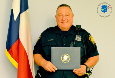 The National Law Enforcement Officers Memorial Fund has selected Officer Timothy Bowen, of the San Antonio (TX) Police Department, as the recipient of its Officer of the Month Award for December 2016.