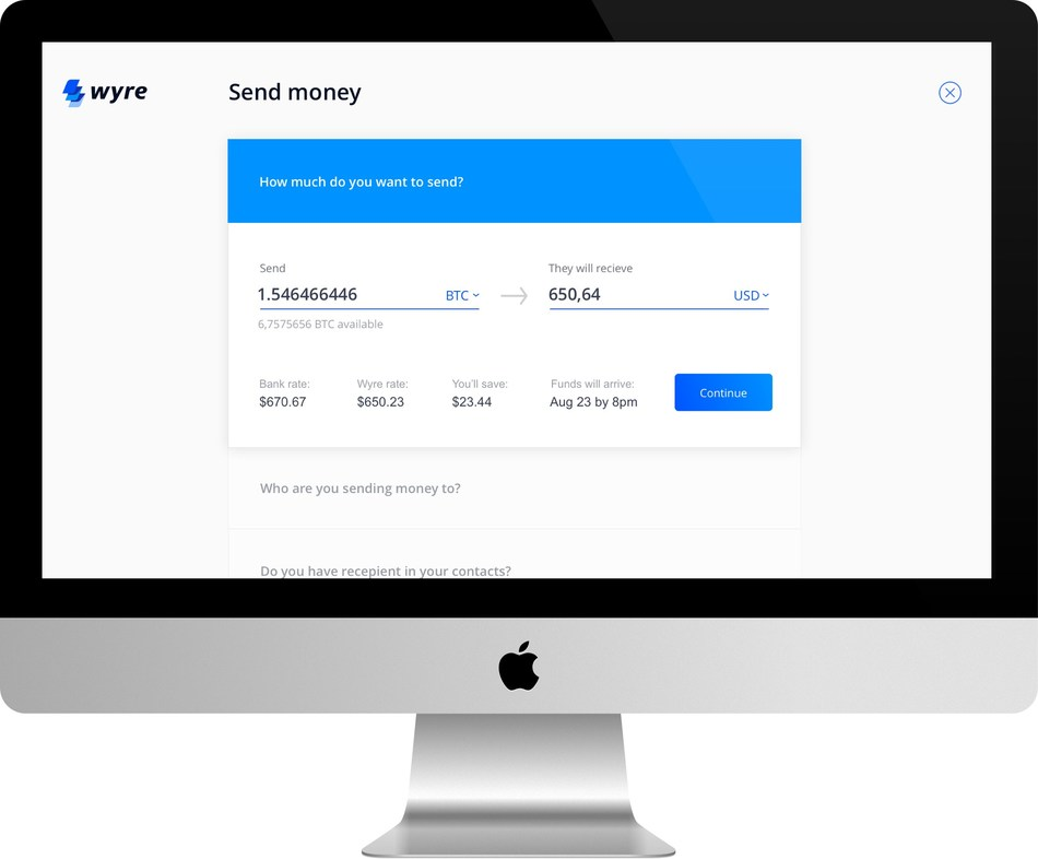 Wyre Launches Fastest Blockchain Cross-Border Payments Platform with Most Competitive FX Rates for International Money Transfer