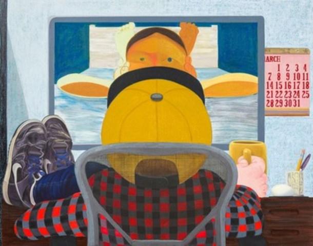 Nicole Eisenman, Long Distance, 2015 (Groupe CNW/Musée d'art contemporain de Montréal)
