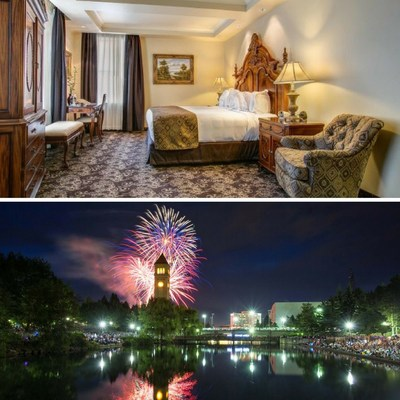 Celebrate New Year's Eve with a stay at The Historic Davenport, Autograph Collection on December 31, 2016, and receive admission for two to the city's biggest New Year's Eve celebration, First Night Spokane. For information, visit www.marriott.com/GEGAK or call 1-509-455-8888.