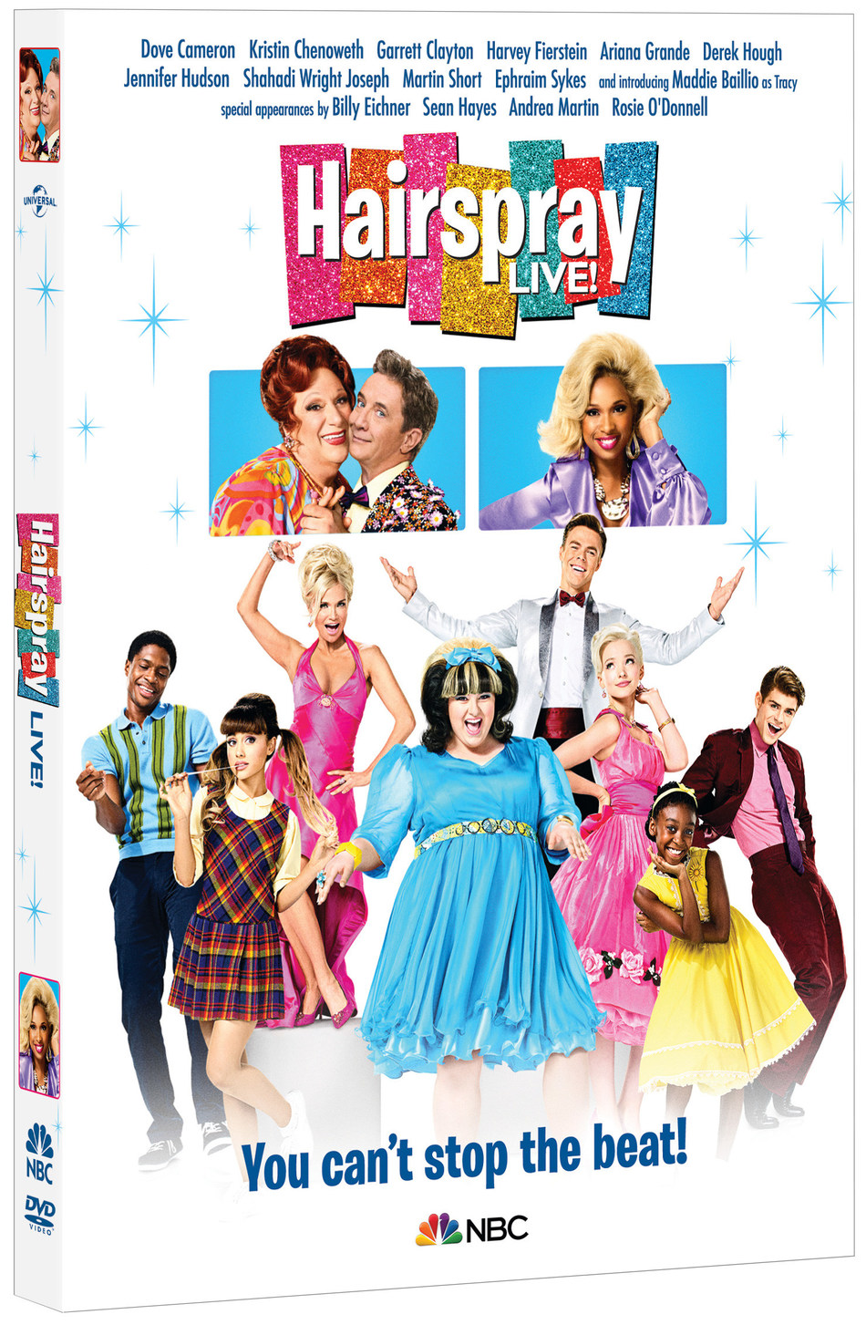 From Universal Pictures Home Entertainment: Hairspray Live!