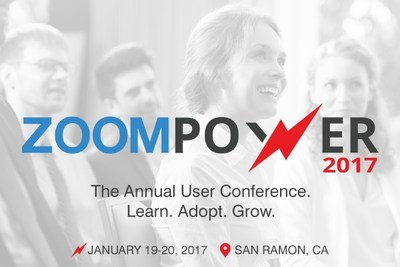 ZoomPower 2017 - The Annual User Conference