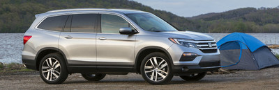 third generation honda pilot offers more updates in. Black Bedroom Furniture Sets. Home Design Ideas