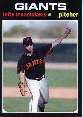 Filmmaker Jon Leonoudakis has three baseball documentaries in the permanent collection of the Hall of Fame. He can still play the game, seen here pitching at the 2016 San Francisco Giants fantasy camp.