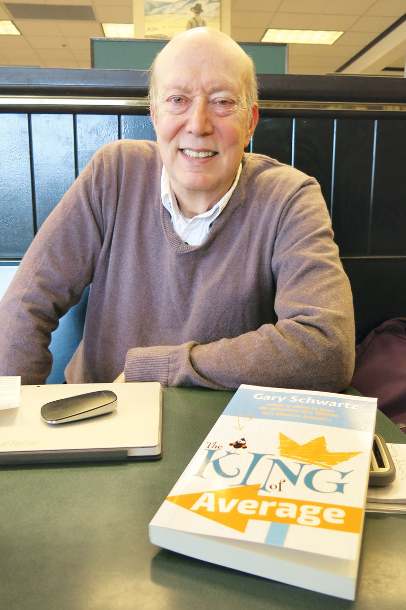 Actor Gary Schwartz and his debut middle grade novel, The King of Average