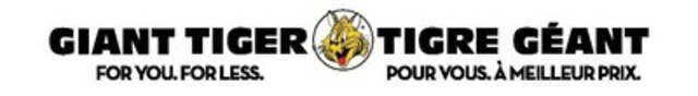 LOGO : Tigre Géant (Groupe CNW/Giant Tiger Stores Limited)