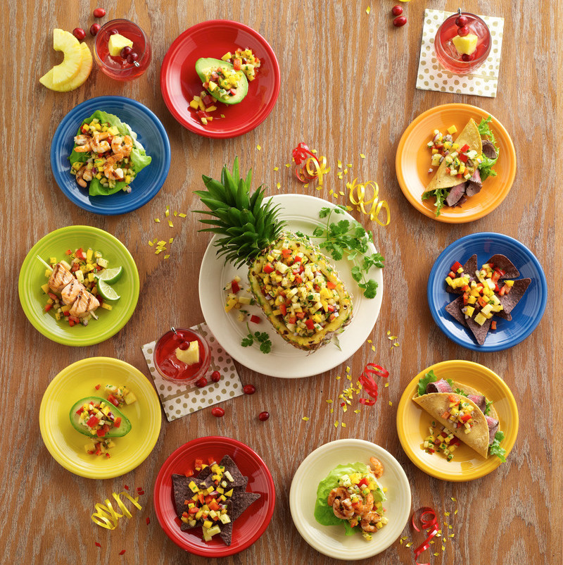 Have a Mele Kalikimaka this year by putting a tropical spin on your holiday cuisine with this delicious Cranberry Pineapple Mango Salsa! For more recipes, visit www.oceanspray.com.